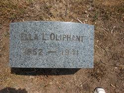 Ella L <I>Cook</I> Oliphant