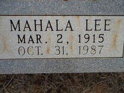 Mahala Lee <I>Chapman</I> McMahon