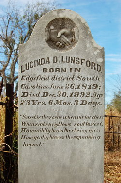 Lucinda D. <I>Barrington</I> Lunsford