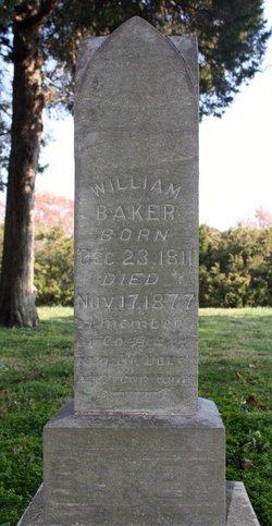 William D Baker, Sr