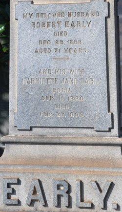Harriette Jane <I>Davies</I> Early