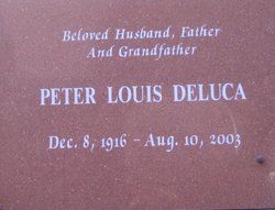 "Peter Louis ""Pete"" De Luca, Jr"
