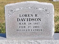 "Loren Ronald ""Lornie"" Davidson"