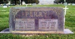 Clara Mahala <I>Barker</I> Perry