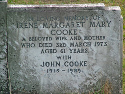 Irene Margaret Mary Cooke
