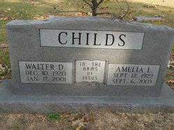 Walter D Childs