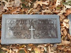 Schollie M <I>Gable</I> Mayberry