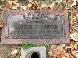 George F Carter