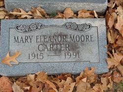 Mary Eleanor <I>Moore</I> Carter