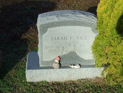 Sarah F. <I>Roberts</I> Vice
