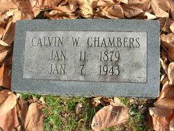 Calvin Wesley Chambers