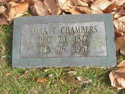Nora <I>Thomas</I> Chambers