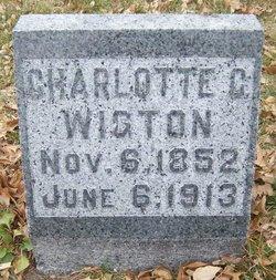 "Charlotte C ""Lottie"" <I>Chadwick</I> Wigton"