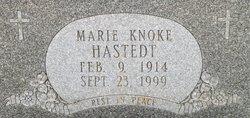 Marie <I>Knoke</I> Hastedt