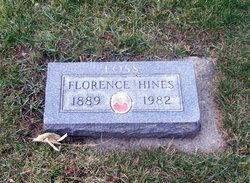 """Florence Mabel """"Mabel"""" <I>Thompson</I> Hines"""