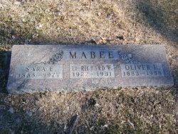 Lt Richard Wayne Mabee
