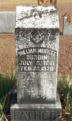 William Merritt Burgin