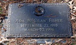Ada Bell <I>McCraw</I> Fisher