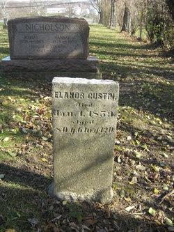Eleanor <I>Bunton</I> Gustin