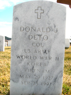 Donald John Deyo