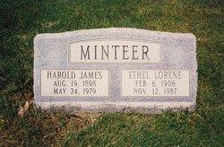 Ethel Lorene <I>Wright</I> Minteer