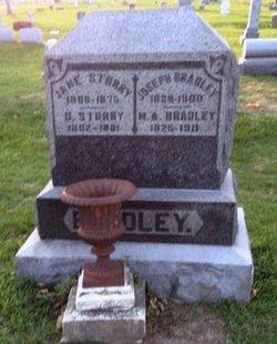 Mary A. <I>Storry</I> Bradley