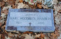 Mary Woodbeck <I>Isaacson</I> Hamblin