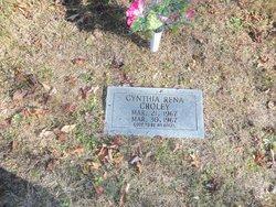 Cynthia Rena Croley
