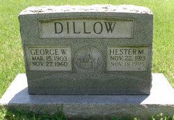 Hester Maxine <I>Clark</I> Dillow
