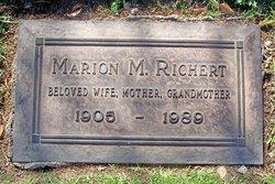 Marion Mildred <I>McNeal</I> Richert