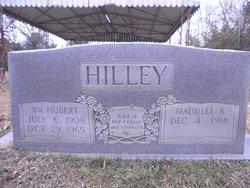 "Maudell ""Plunkett"" <I>Kennedy</I> Hilley"