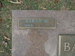 Sarah M Barrett