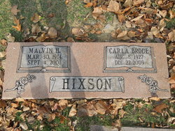 Clara <I>Brode</I> Hixson