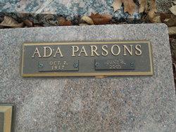 Ada <I>Parsons</I> Dudzick