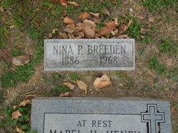Nina <I>Pirtle</I> Breeden
