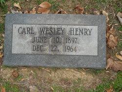 Carl Wesley Henry, Sr