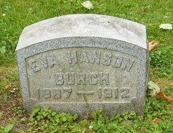 Eva <I>Hanson</I> Burch