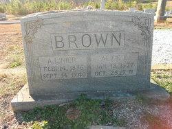 Alice E. <I>Brannon</I> Brown