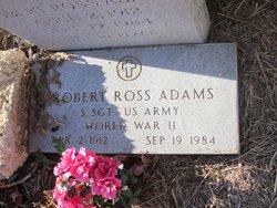 Robert Ross Adams