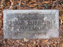 Sarah Elizabeth Pollard