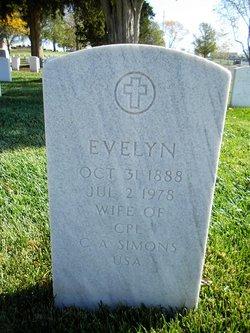 Evelyn Simons