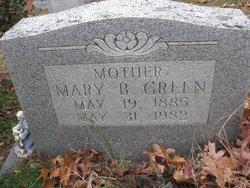 Mary Anne <I>Branham</I> Green