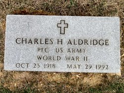 Charles H Aldridge