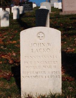 John W Lacko