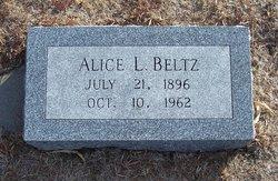 Alice Louise <I>Bergman</I> Beltz