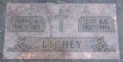 Harry M Etchey, Sr