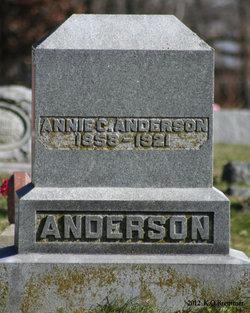 Annie Catherine <I>Hartman</I> Anderson