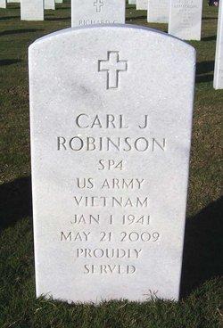 Carl J Robinson