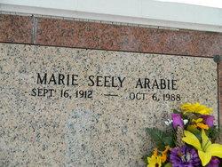 Marie <I>Seely</I> Arabie