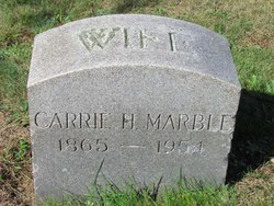 Carrie H <I>Marble</I> Aldrich